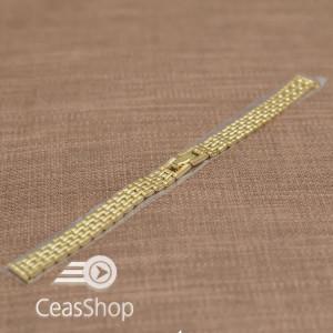 Bratara dama metalica aurie  12mm - 37537