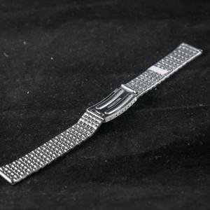 Bratara metalica argintie 18mm - 37457
