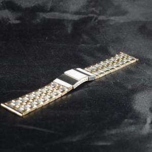 Bratara metalica doua tonuri 24mm- 38927