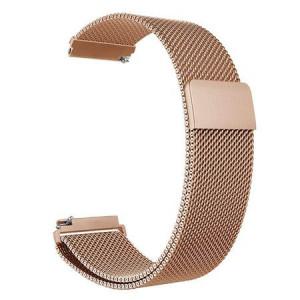 Bratara smartwatch rose gold cu magnet si telescop Quick Release 20mm -57184