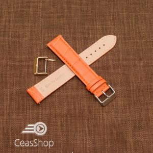 Curea model crocodil captusita portocalie  22m XL - 45758