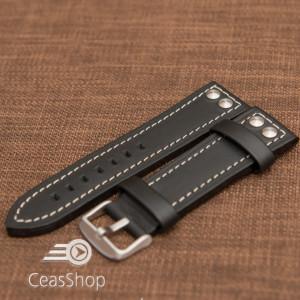 Curea piele ceas model TW Steel 24mm - 48981