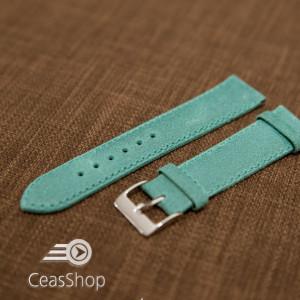 Curea piele turquoise vintage 20mm - 42252