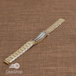 Bratara dama metalica aurie  12mm - 39378