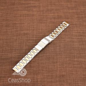 Bratara dama metalica bicolora 16mm - 39398