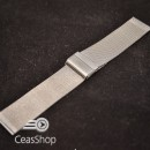 Bratara milaneza fina argintie 24mm -39870