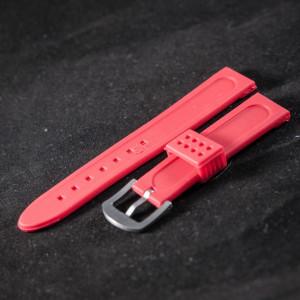 Curea ceas sport rosie 20 mm - 34588