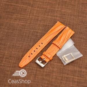Curea model soparla captusita pe jumătate portocalie  14mm - 45809