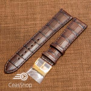 Curea piele vitel maro, handmade, căptusită 19mm - 33793
