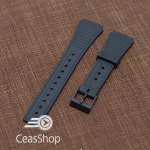 Curea tip Casio cauciuc - 36568 pentru  F16, F15, F18