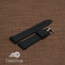 Curea din silicon tip SWATCH 19 mm neagra - 49191