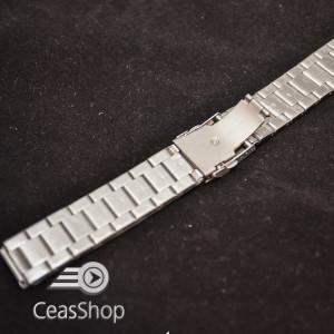 Bratara metalica argintie XL 24mm- 38983