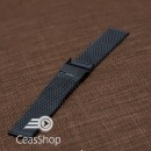 Bratara milaneza neagra 16mm - 52119