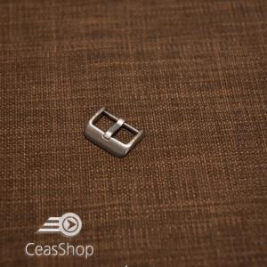 Catarama argintie otel satinat 22mm - 42344