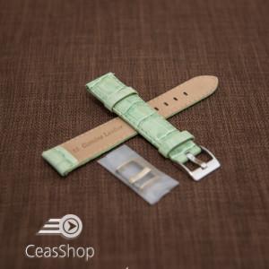 Curea model crocodil captusita verde  20m - 45783