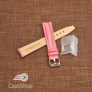 Curea model soparla captusita pe jumătate roz  20mm - 45819