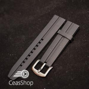 Curea  neagra ceas sport  22mm XL- 49431