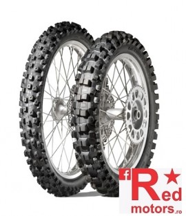 Set anvelope/cauciucuri moto Dunlop Geomax MX52 90/90 R21 54M + 110/90 R19 62M