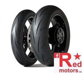 Set anvelope/cauciucuri moto Dunlop Gp Racer D211 120/70 R17 58W S+ 200/55 R17 78W M
