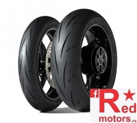Set anvelope/cauciucuri moto Dunlop Gp Racer D212 120/70 R17 58W M+ 180/55 R17 73W M