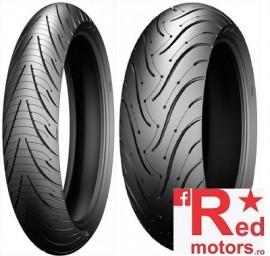 Set anvelope/cauciucuri moto Michelin Pilot Road 3 120/60 R17 55W + 160/60 R17 69W