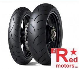 Set anvelope/cauciucuri moto Dunlop Qualifier II 120/70 R17 58W + 160/60 R17 69W