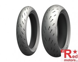 Set anvelope/cauciucuri moto Michelin Power RS 120/70ZR17 58W TL + 180/55ZR17 73W TL