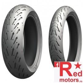 Set anvelope/cauciucuri moto Michelin Road 5 120/60 R17 55W + 160/60 R17 69W