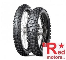 Set anvelope/cauciucuri moto Dunlop Geomax MX71 80/100 R21 51M + 110/90 R18 61M