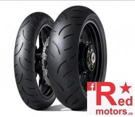 Set anvelope/cauciucuri moto Dunlop Qualifier II 120/70 R17 58W + 190/55 R17 73W