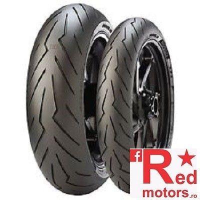 Anvelopa/ cauciuc spate Pirelli Diablo Rosso III 140/70 R 17 M/C 66H TL Rear