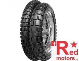 Set anvelope/cauciucuri moto Continental TKC80 90/90 R21 54S + 140/80 R18 70R