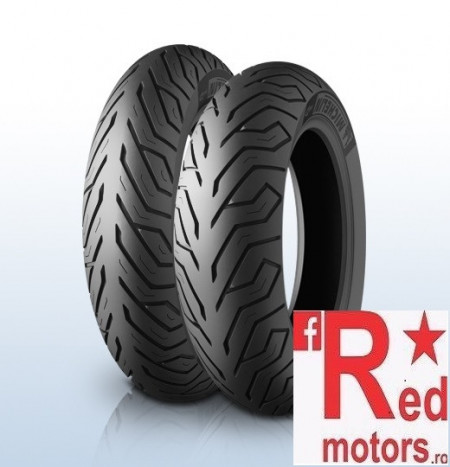 Set anvelope/ cauciucuri moto Michelin City Grip 110/70-11 45L Front TL + 120/70-10 54L Rear TL Reinforced