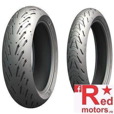 Set anvelope/cauciucuri moto Michelin Road 5 120/70 R17 58W + 190/55 R17 75W