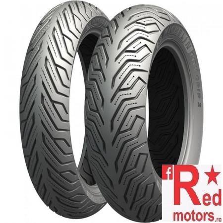 Anvelopa/cauciuc moto spate Michelin City Grip 2 120/80-16 60S Front/Rear TL M+S