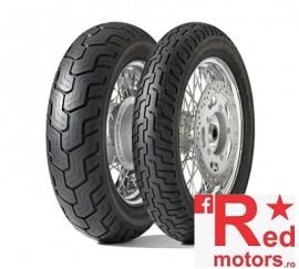 Set anvelope/cauciucuri moto Dunlop D404 100/90 R19 57H TL + 140/90 R15 70H TL