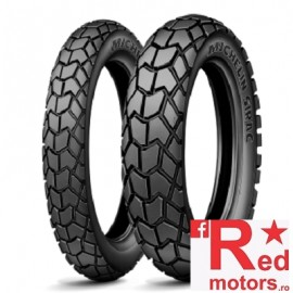 Set anvelope/cauciucuri moto Michelin Sirac 90/90 R21 54T + 120/90 R17 64T