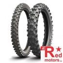 Set anvelope/cauciucuri moto Michelin Starcross 5 90/100 R21 Hard + 100/100 R18 Medium