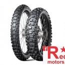 Set anvelope/cauciucuri moto Dunlop Geomax MX71 90/100 R21 57M + 120/90 R18 65M