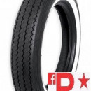 Anvelopa/ cauciuc moto fata/ spate Shinko BE240 MT90-16 (130/90-16) 74H TT Front/Rear WW (talon alb)
