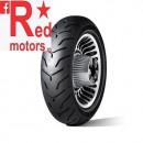 Anvelopa/cauciuc moto spate Dunlop D407 180/65B16 81H TL R WWW (talon alb)