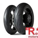 Set anvelope/cauciucuri moto Dunlop Gp Racer D212 120/70 R17 58W M+ 180/55 R17 73W