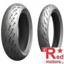 Set anvelope/cauciucuri moto Michelin Road 5 120/60ZR17 55W + 180/55ZR17 73W