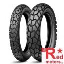 Set anvelope/cauciucuri moto Michelin Sirac 90/90 R21 54T + 130/80 R17 65T