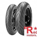 Anvelope/cauciuc moto spate Pirelli Diablo Rosso 3 III 190/55 ZR 17 M/C (75W) TL Rear