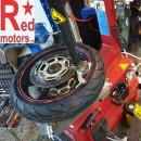 Inlocuire anvelope moto - echilibrare roti TUBELESS - fara camera