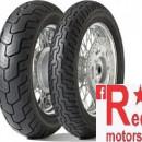 Set anvelope/ cauciucuri moto Dunlop K555 120/80-17 61H TL F + 150/80-15 70V TL R