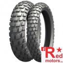 Set anvelope/cauciucuri moto Michelin Anakee WILD M+S 90/90-21 54R TL/TT + 140/80-18 70R TL/TT