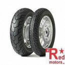 Anvelopa/cauciuc moto fata Dunlop D404 150/80-16 71H TL F WWW (talon alb)