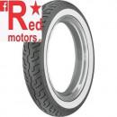 Anvelopa/cauciuc moto fata Dunlop K177 120/90-18 65H TL F WWW (talon alb)